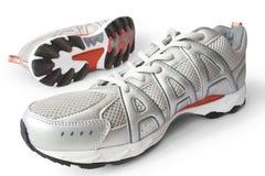 Man aanstotende schoenen Stock Afbeeldingen
