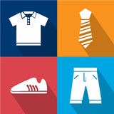 Man Accessories icon great for any use. Vector EPS10. Stock Image
