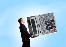 Man accountant Stock Image