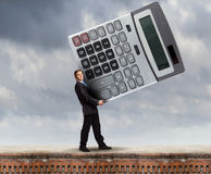 Man accountant Stock Photography