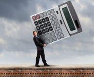 Man accountant Stock Photography