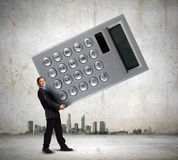 Man accountant Stock Images