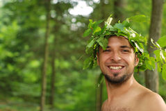 Man acting royalty free stock photos