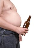 Man with a alcohol Stock Photography