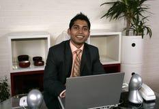 Man And Computer Stock Photos