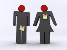 Man And Women Stock Images