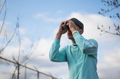Rose Tinted Binoculars stock image