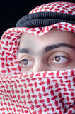 Man in arab clothing Royalty Free Stock Photography