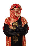 Man with an Arabian costume. carnival Stock Photo