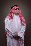 Man in Arabic clothing Royalty Free Stock Photography