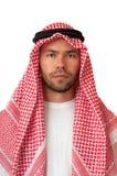 Man in Arabic headdress. royalty free stock photos