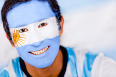Man from Argentina Royalty Free Stock Photography