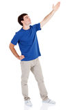 Man arm up Royalty Free Stock Images