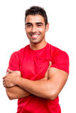 Man with arms crossed Stock Photography