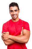 Man with arms crossed Royalty Free Stock Image