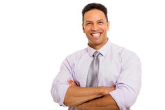 Man with arms folded Royalty Free Stock Image