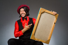 The man artist in art concept Stock Image