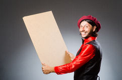 The man artist in art concept Stock Images