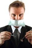 Man as dentist Stock Photo