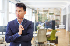Man as manager with responsability Royalty Free Stock Photography