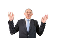 Man as an official, representative, advocate or reseller. Man as an official, representative, agent or salesman laughing Royalty Free Stock Photography