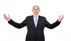 Man as an official, representative, agent or salesman stock photography