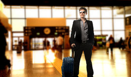 Free Man At The Airport Stock Photo - 11175210