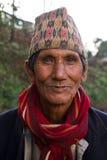 Man av Sindhupalchowk, Nepal royaltyfri fotografi