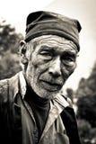Man av Sindhupalchowk, Nepal royaltyfri foto