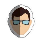 Man avatar character icon Stock Photo