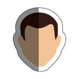 Man avatar character icon Royalty Free Stock Image