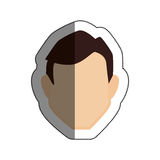 Man avatar character icon Stock Images