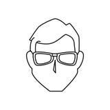 Man avatar character icon Stock Photos