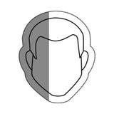 Man avatar character icon Royalty Free Stock Photography
