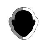 Man avatar character icon Stock Image