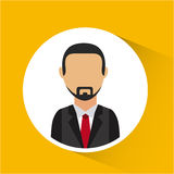 Man avatar design Royalty Free Stock Photography