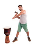 Man with an ax Stock Photos