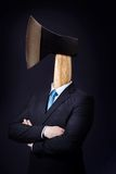 Man with Axe as Head Royalty Free Stock Image