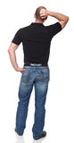 Man back view Stock Image