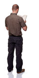 Man back view Stock Photography