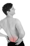 Man With A Backache Stock Photos