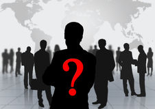 Man background team Stock Images