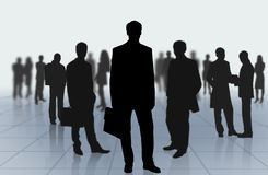 Man background team Royalty Free Stock Images