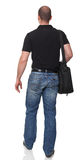 Man with bag Stock Photos