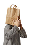 Man with bag. Stock Photo