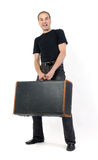 Man with baggage Stock Photography