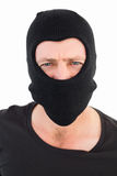 Man in balaclava looking at camera Stock Photos