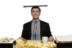Man Balancing Keyboard Stock Photos