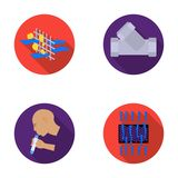 Man, bald, head, hand .Water filtration system set collection icons in flat style vector symbol stock illustration web. Stock Photos