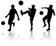 Man with ball Stock Images